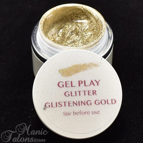 Akzentz Gel Play Glitstening Gold