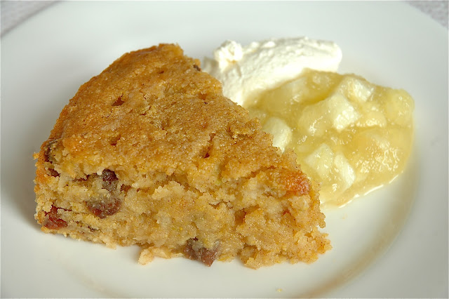 Spiced Apple Sultana Cake
