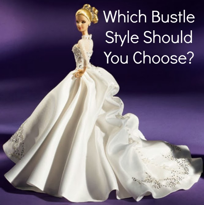 Which Bustle Style Should You Choose? - The White Room Birmingham