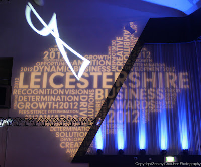 Leicestershire Business Awards 2012 Sanjay Chuahan Photography