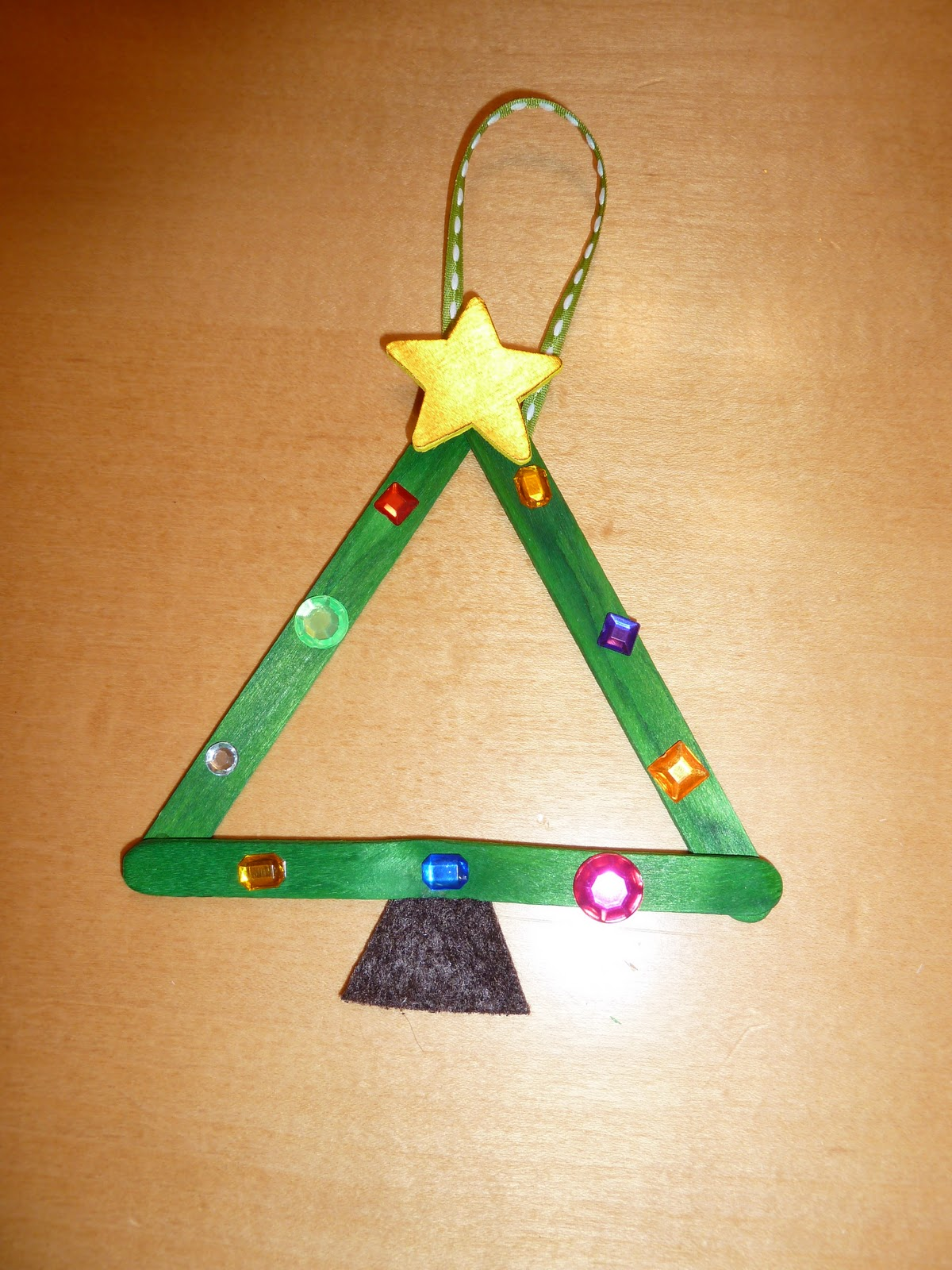 Christmas Craft Ideas With Popsicle Stick : Room mom extraordinaire christmas tree party