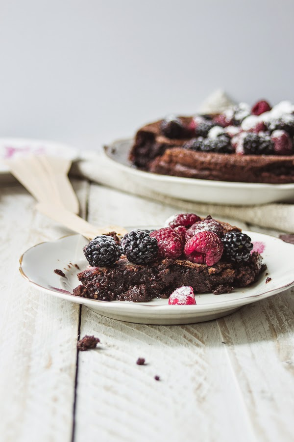 Flourless Swedish Chocolate Cake KLADDKAKA + gifs recipe thisisasweetblog