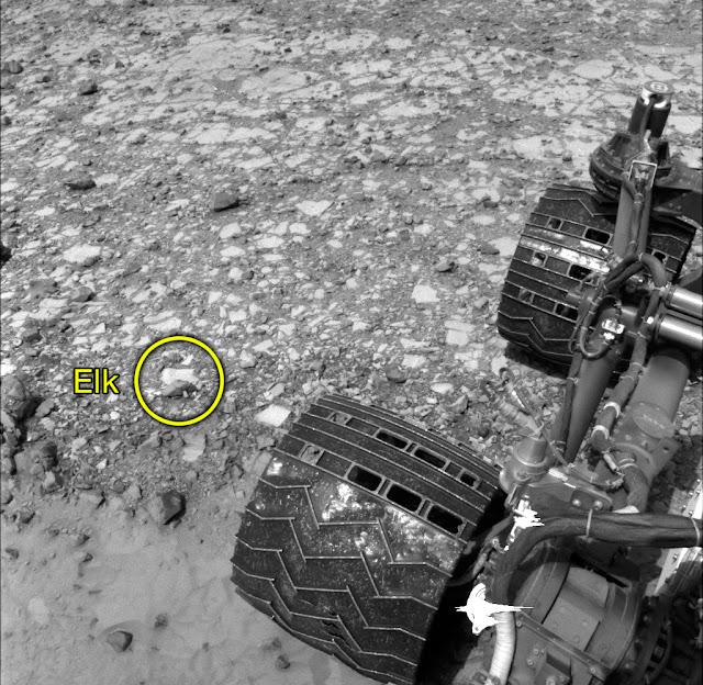 Zona Maria Pass de Marte