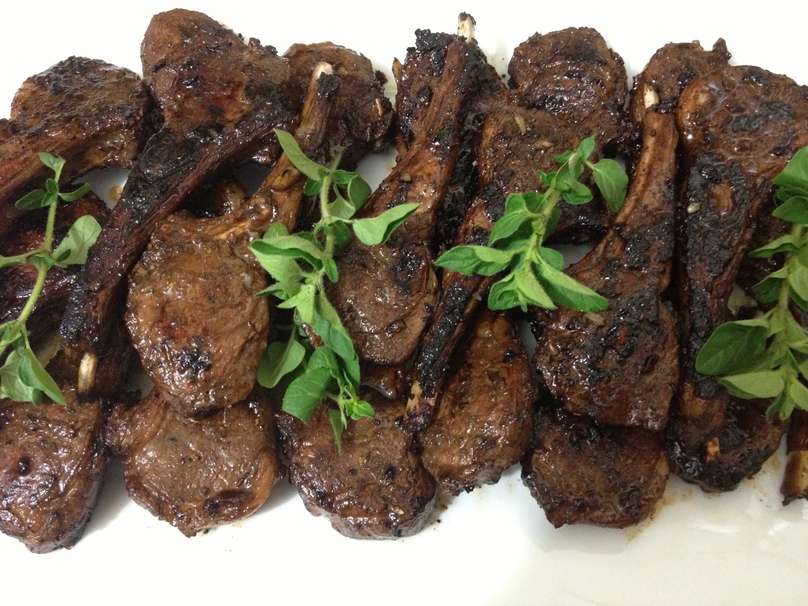 Balsamic and Garlic Lamb Cutlets - A Dash Of Flavour Printable Recipes