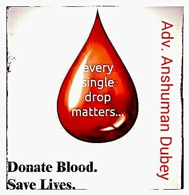Donate Blood:-