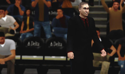 NBA 2K13 Coach Mike D'Antoni Cyberface Patch
