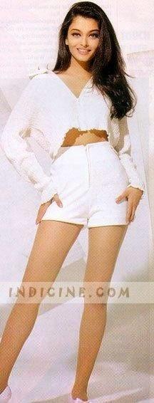 aishwarya rai white shorts