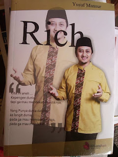 beli buku ust yusuf mansur rich diskon memperbaiki akidah dalam kekayaan