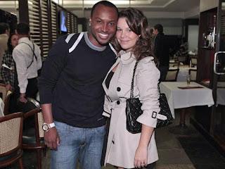 Thiaguinho e namorada Fernanda Sousa