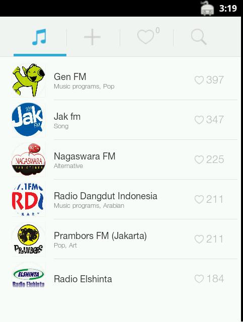 Aplikasi Radio FM Gratis Untuk Android