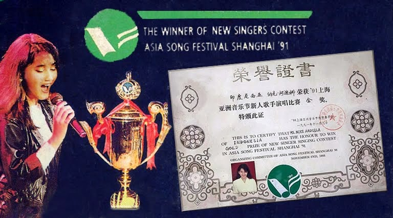 ASIA SONG FESTIVAL 1991, SHANGHAI CHINA.