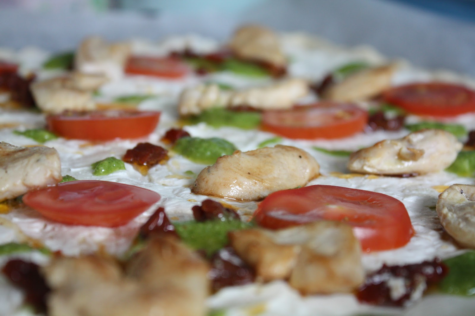 soltørkede tomater ost