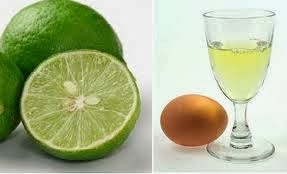 Cara Memutihkan Wajah dengan jeruk nipis dan putih telur
