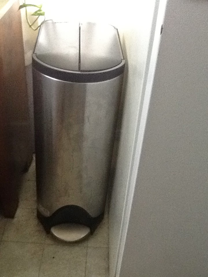 William The Dog Trainer: A Virtually Dog Proof Kitchen Trash Can!