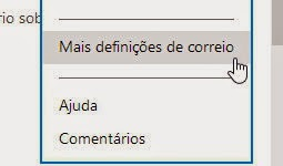Email de reposta automática no Outlook