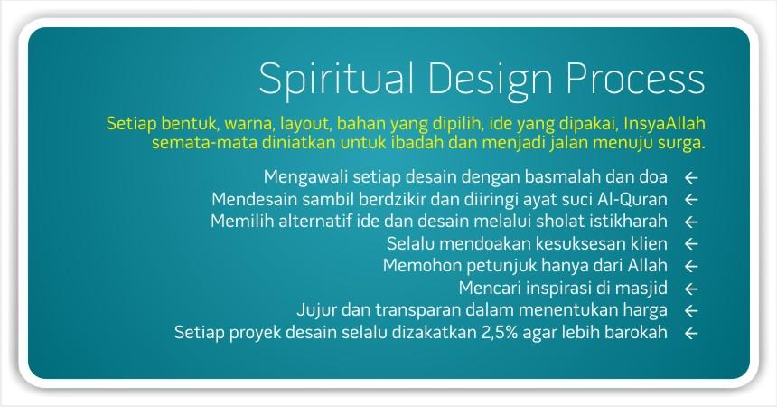 SPIRITUAL DESIGN PROCESS