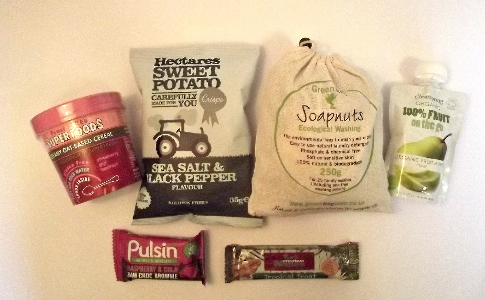 The Vegan Kind subscription box January 2015 TVK15
