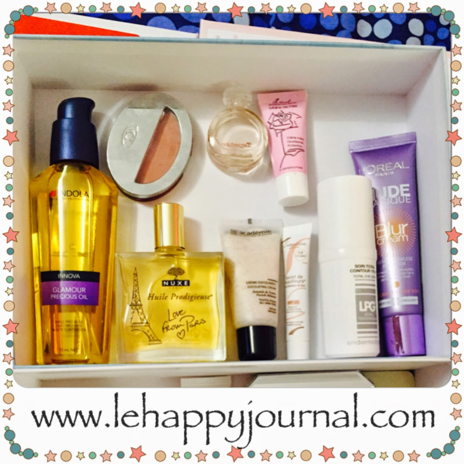 beauté, rotation, box, boites, coffret, happy journal