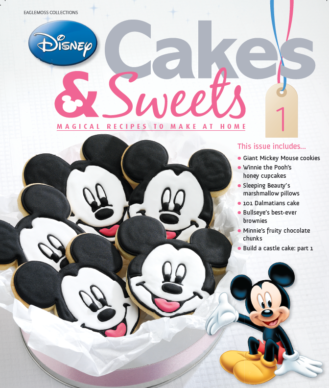 Great  Disney Cakes and Sweets couldn ut have been sweeter The first edition of this weekly publication is released on the th of September but Lara and I got