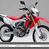 HONDA CRF250L – MOTOR TRAIL DENGAN MESIN 250CC PESAING YAMAHA WR250