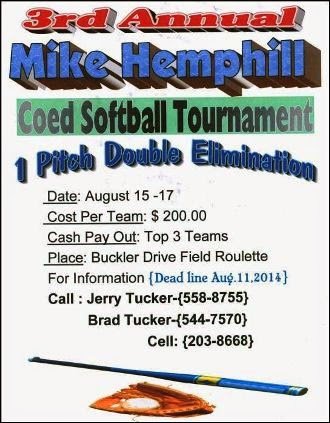 8-15/17 Mike Hemphill Tournament