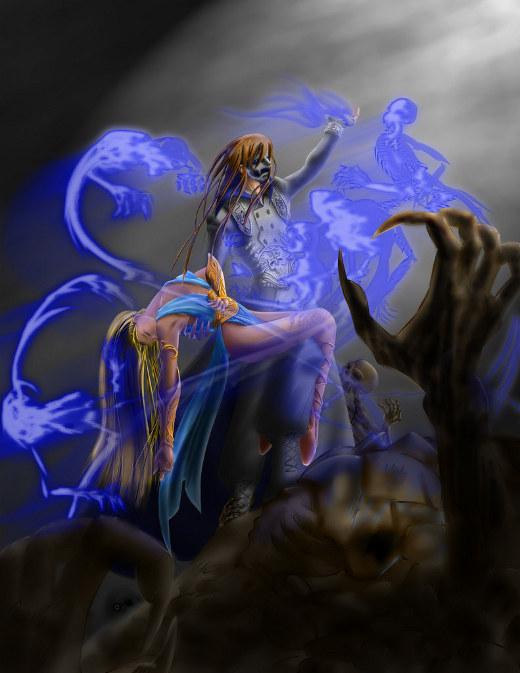 不死の魔法使い por ●_●