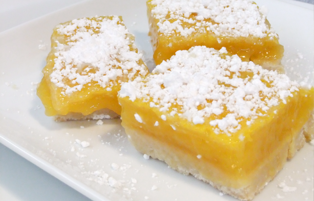 Lemon Square Bars With Cake Mix