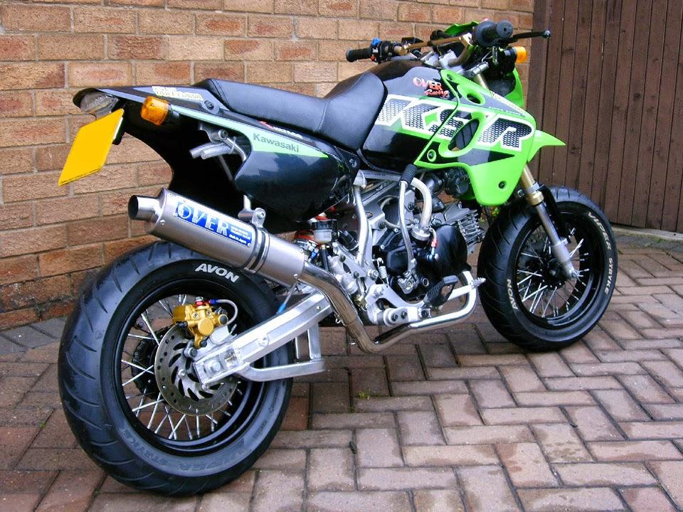 Modifikasi Kawasaki KSR 110 Terbaru