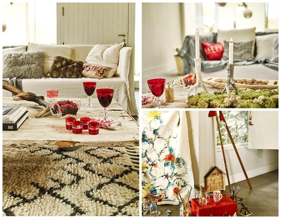 Zara Home Decoracion Mesas ~ Un ambiente buc?lico de le?a, chimenea , velas encendida