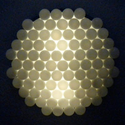 La Todera: Ping Pong Ball Light