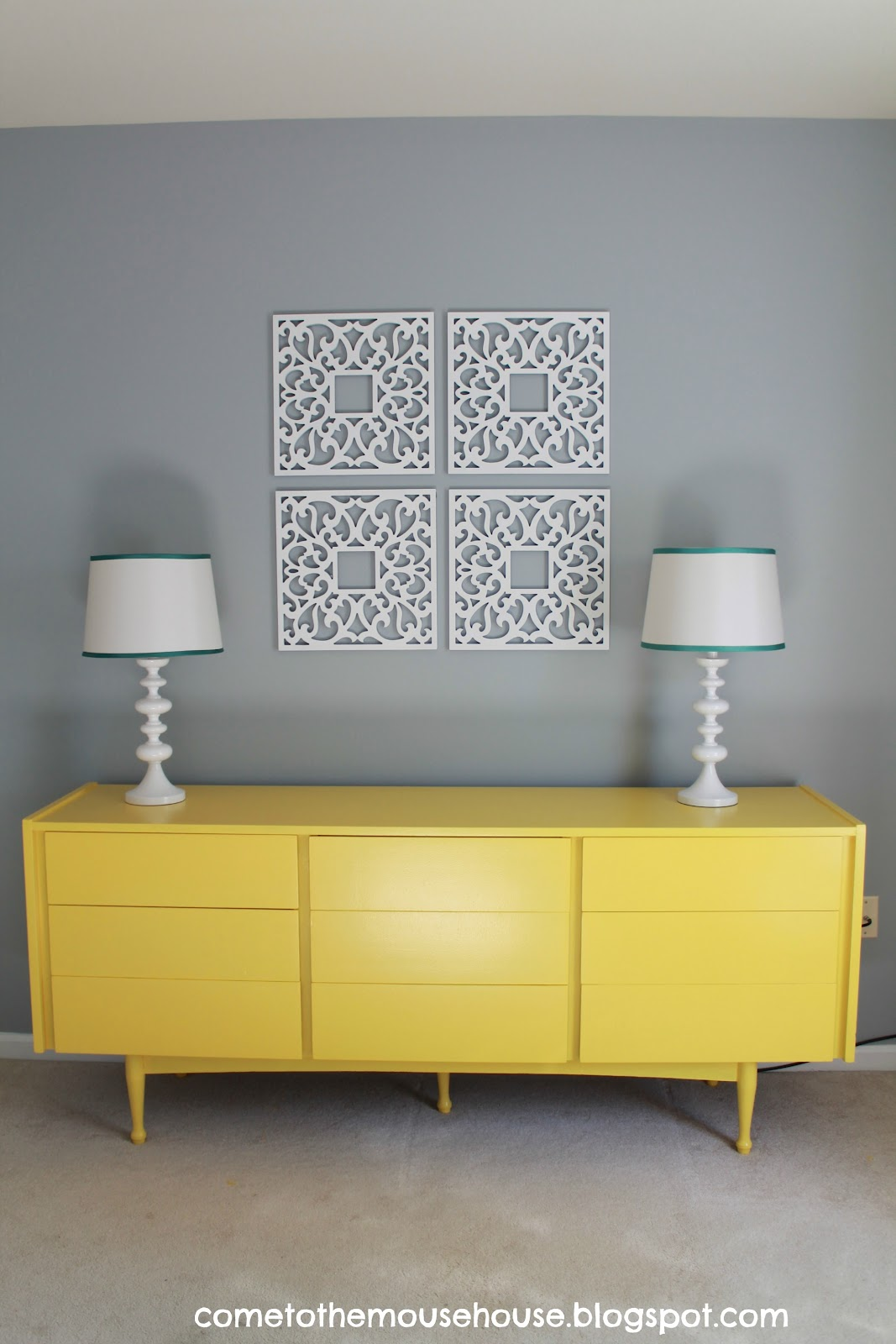 gray and yellow playroom the reveal. Black Bedroom Furniture Sets. Home Design Ideas
