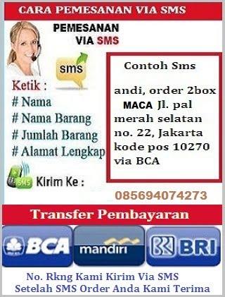 CARA ORDER VIA SMS