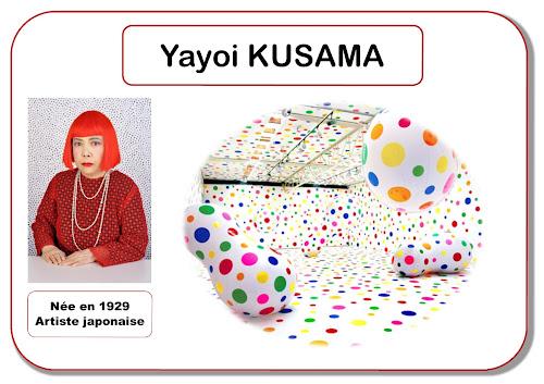 Yayoi Kusama - Portrait d'artiste en maternelle
