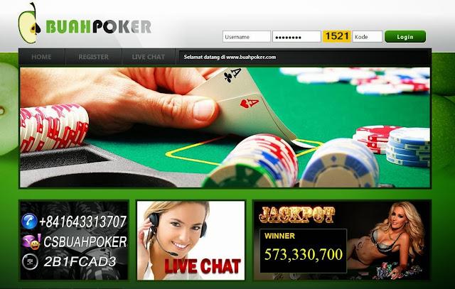 Daftar Poker Online Uang Asli BuahPoker.com
