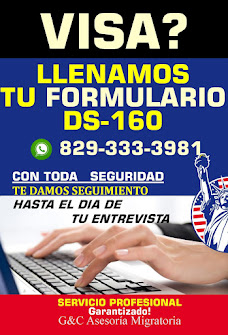 VISA DE NO INMIGRANTE FORMULARIO DS-160