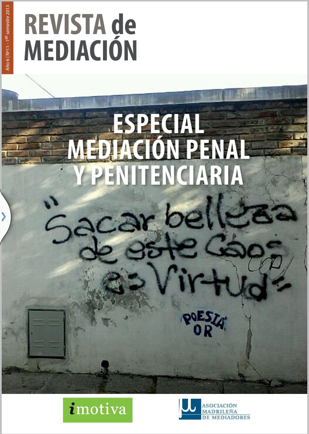 Ester del hierro publicaciones for Mediacion penitenciaria