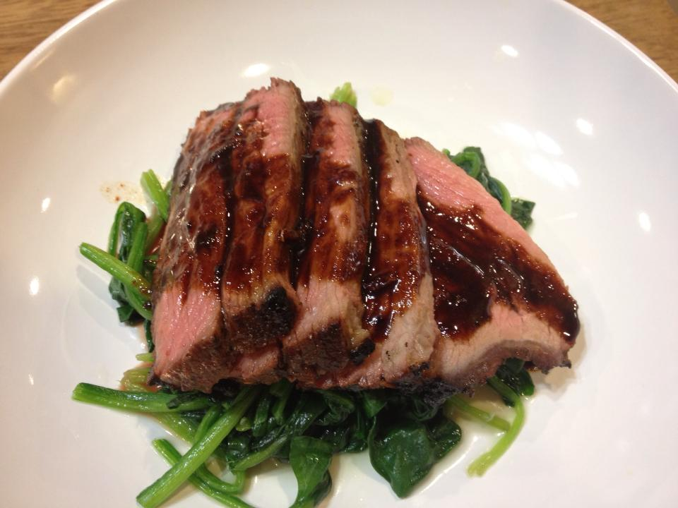 Grilled Tri-Tip Steak with Molasses Chili Marinade ...