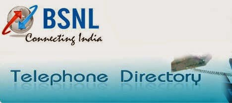 BSNL – Online Telephone Directory Search: