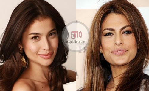Anne Curtis and Eva Mendes