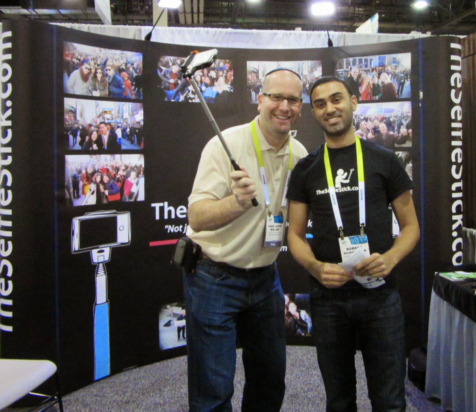 SelfieStick at CES 2015