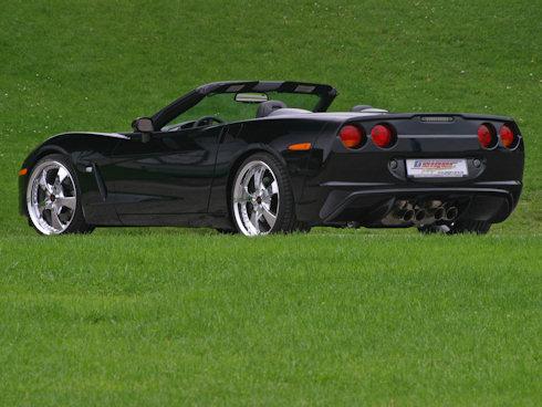 Svart Corvette