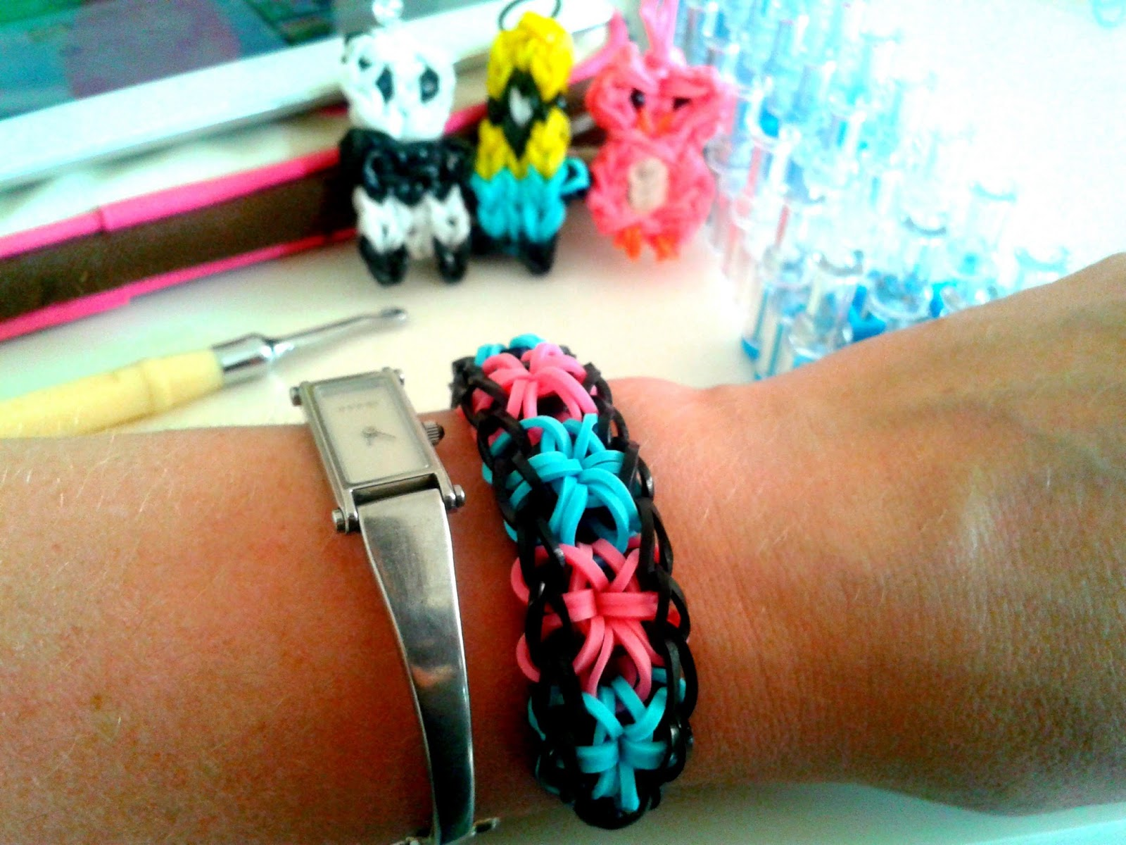 Project 365 day 198 - Loom bands // 76sunflowers