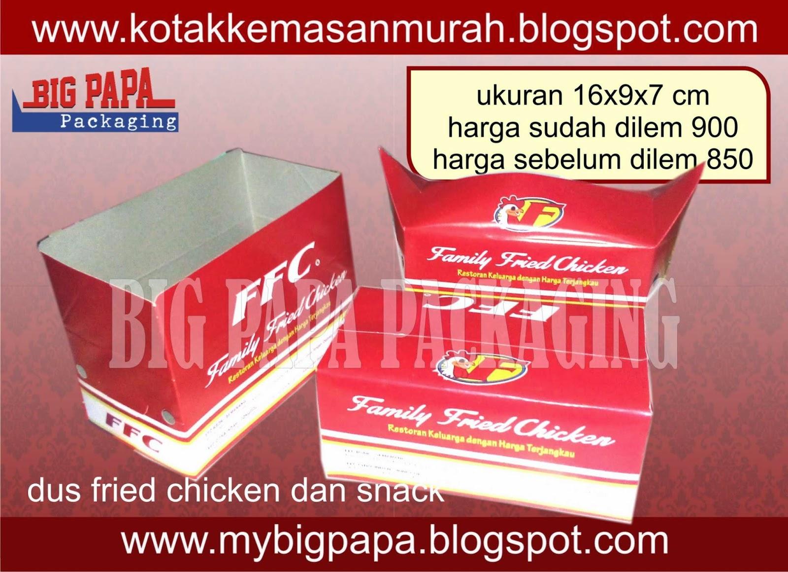 box fried chicken snack