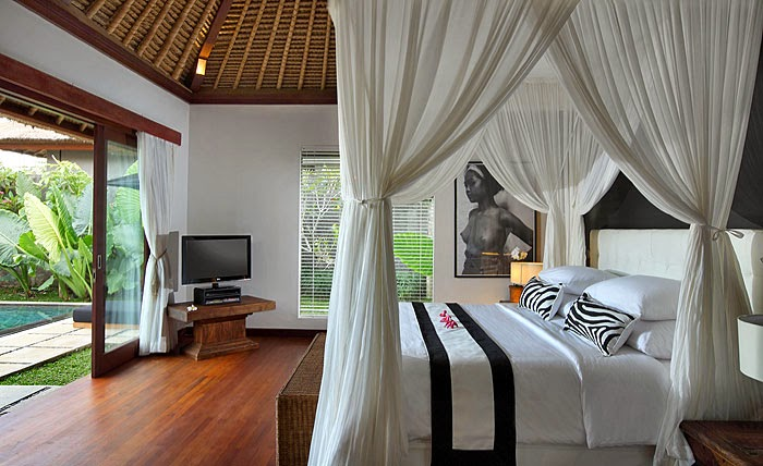bedroom interior design for tropical villa