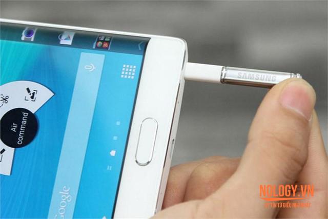 Bút S-pen trên Galaxy Note edge docomo