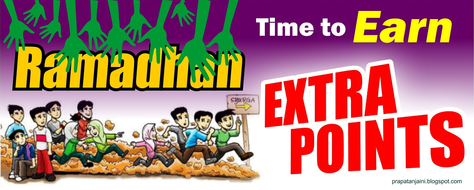 Ramadhan Time to Earn Extra Points