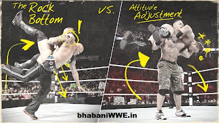 Infograph » Rock vs. Cena: Analyzing Their Signature Maneuvers [Official Report]