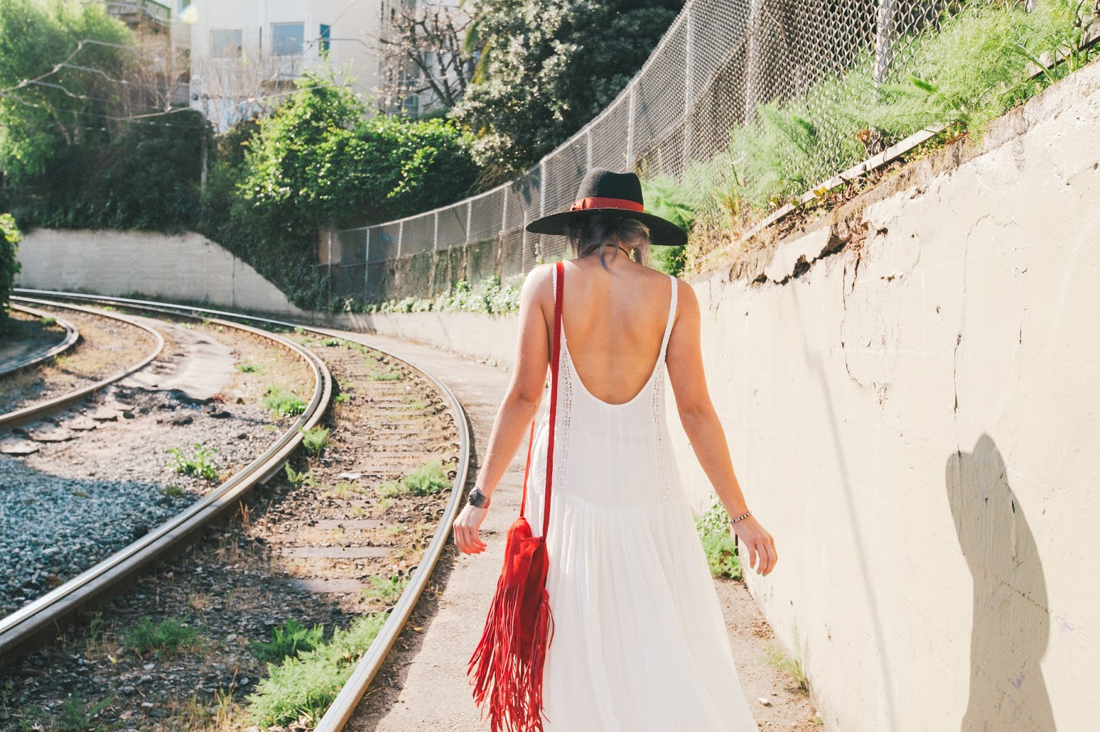 San Francisco's Dolores Park, Coachella Festival Fashion Style on Blogger Bryn Newman of Stone Fox Style