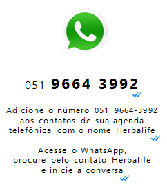 WHATSAPP DA HERBALIFE