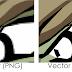 Qual a diferença entre uma imagem vetorial e uma imagem BitMap